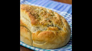 Herb and Onion Focaccia