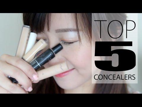 TOP 5 CONCEALERS!