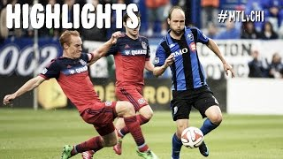 HIGHLIGHTS: Montreal Impact vs Chicago Fire | August 16th, 2014