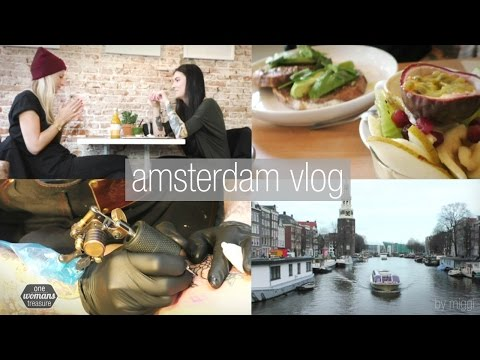 VLOG: Amsterdam | vegan Food & TattooTime