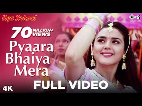 Pyaara Bhaiya Mera - Kya Kehna | Preity Zinta & Chandrachur Singh | Alka Yagnik & Kumar Sanu video