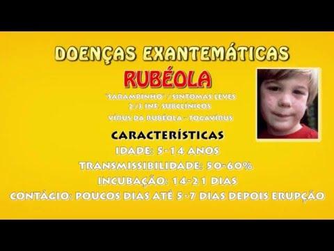 PEDIATRIA - DOENÇAS EXANTEMÁTICAS | SARAMPO, RUBÉOLA, ESCARLATINA thumbnail