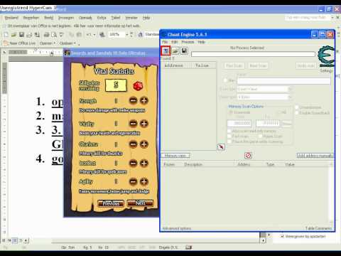 Swords and sandals 3 Stat Hack (Cheat engine 5.6.1)