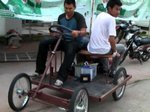 รถพลังงานไฟฟ้าทำเอง โดย HS3UKA