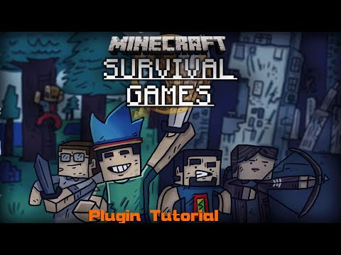 Minecraft - Survival Games Plugin 1.6.4 / 1.7.2 deutsch installieren (einstellen)
