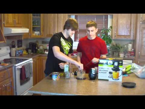 NINJA Master Prep professional demo with  Peanut butter