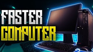 How To Make Your Computer Faster! 5 Ultimate Tips To Speed Up Your Computer In Minutes!