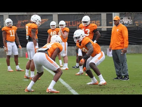 Tennessee Spring Football Practice #11