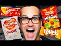 British Movie Theater Snacks Taste Test Ft. Sorted Food
