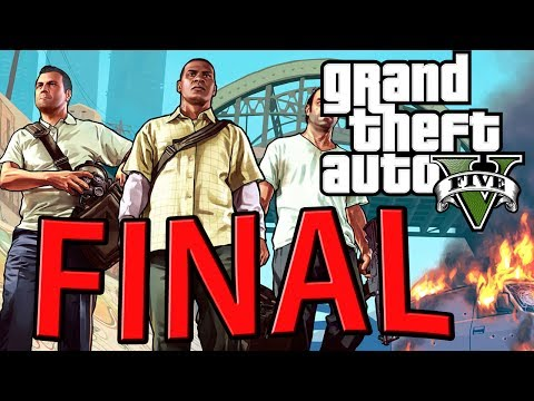 Grand Theft Auto V - FINAL ÉPICO! [ Playthrough GTA 5 em PT-BR ]
