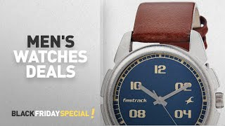 Black Friday Men's Watches: Fastrack Bare Basics Analog watch for Men