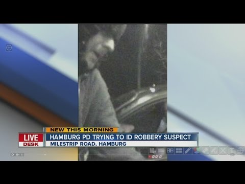 Hamburg Police trying to identify suspected robber
