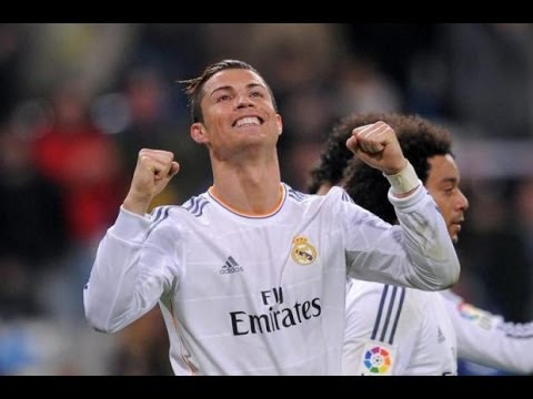 Cristiano Ronaldo Incredible 2 Goals - Real Madrid VS Osasuna (4-0) 4/26/14