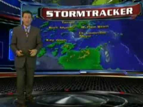 WSVN 7 News Coverage of Hurricane Bill