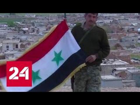 Российская военная полиция делится опытом с сирийскими коллегами