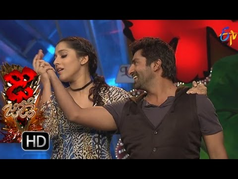 Funny Task | Dhee Jodi | 19th october2016| ETV Telugu thumbnail