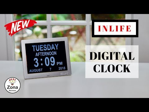😍INLIFE    ❤️  Extra Large Digital  Clock - Review   ✅