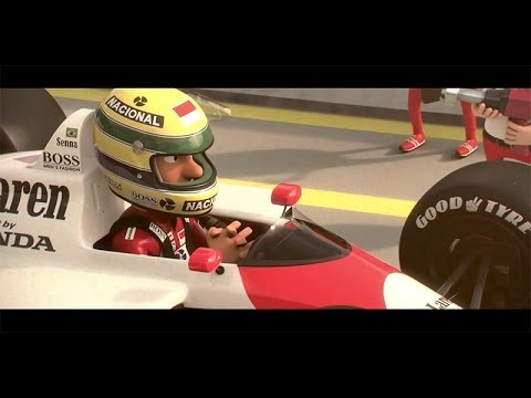 Tooned 50: Episode 6 - The Ayrton Senna Story