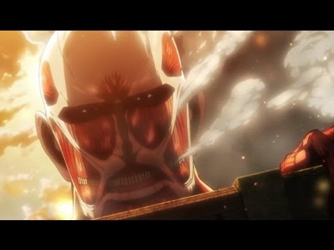 Attack On Titan (Shingeki No Kyojin) Episode 1 Review - End of Humanity?!