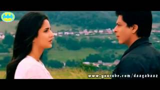 Shahrukh Khan - Katrina Kaif Kiss in bed