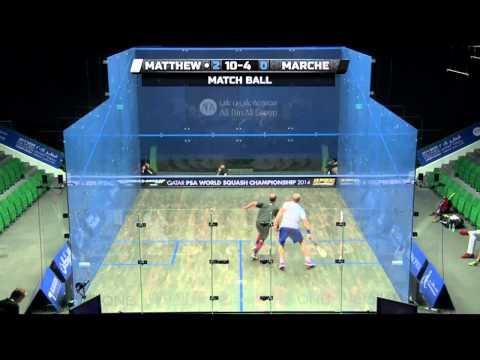 Squash: 2014 PSA World Championship Rd2 Round Up Pt 4