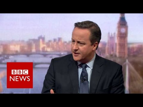 Cameron warns leaving EU is a 'step into the dark' - BBC News