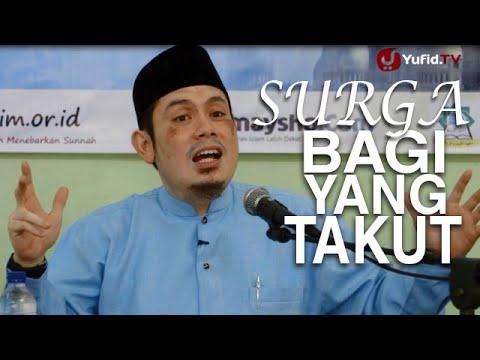 Ceramah Islam: Surga Untuk Yang Takut Pada Allah - Ustadz Ahmad Zainuddin