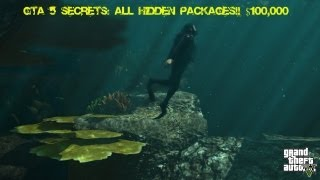 GTA 5 Secrets: ALL HIDDEN PACKAGES!! ($120,000!) - Deutsch/Englisch