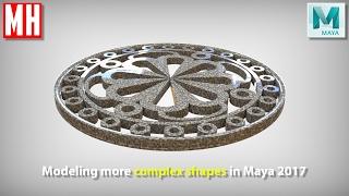 Maya 2017 tutorial : Having some Polygon fun !