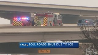 Hundreds of crashes reported due to icy roads