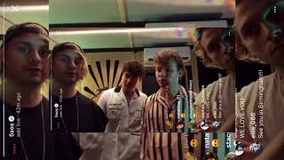5 Seconds Of Summer lie to me acoustic (5sos Instagram live 25/6/18)