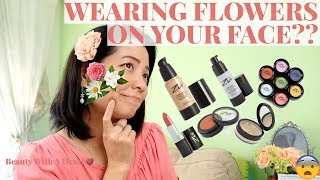 Wearing Flowers On Your Face Zuii Organic Makeup First Impressions Wear Test