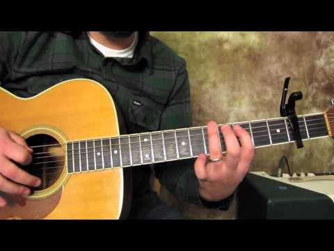 Jack Johnson - Do you remember - How to Play on Acoustic Guitar lesson - tutorial