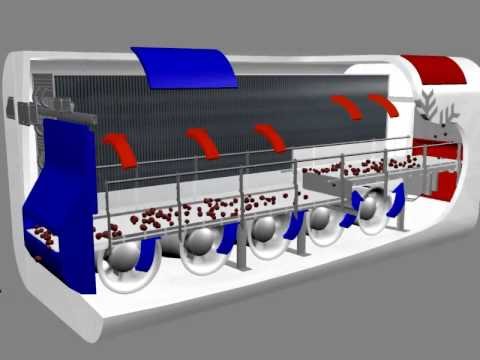 IQF FREEZER TUNNEL the tube iqf freezer tunnel IQF.avi