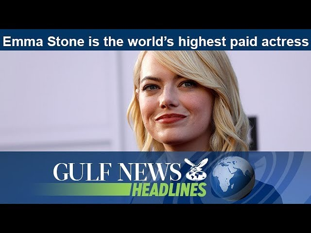 Emma Stone is the world's highest paid actress - GN Headlines