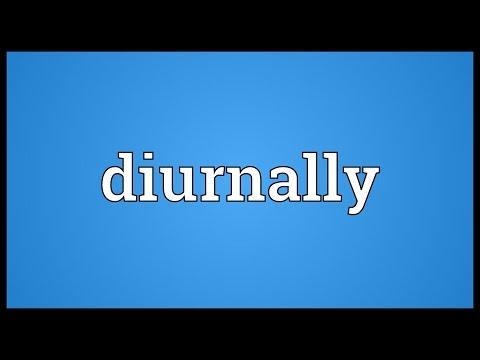 Header of diurnally