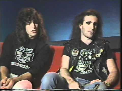 Anthrax 1986 Interview (50 of 100+ Interview Series)