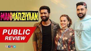 Manmarziyan | Public review | Taapsee Pannu | Vicky Kaushal | Abhishek Bacchan