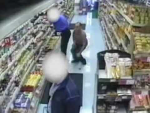 Police Hunt For Supermarket Bum Sniffer