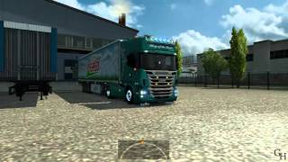 EuroTruckSimulator2 - Scania Mega Tunning