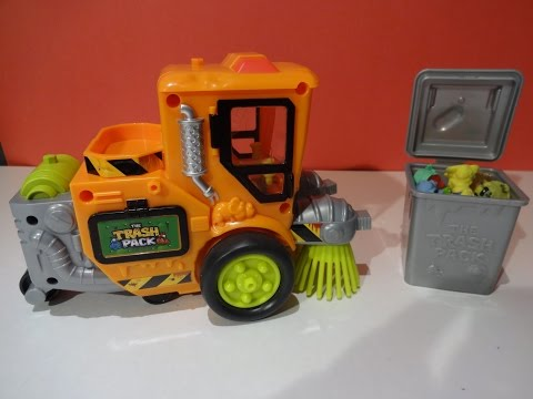 The TRASH PACK Street Sweeper Review - Lot of Trashies