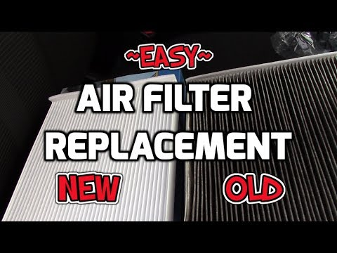 ~ Ford F150 In CABIN AIR FILTER Replacement EASY ~ How To ~