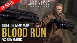 Quake Champions - DUEL on BLOOD RUN (4K 60FPS GAMEPLAY)