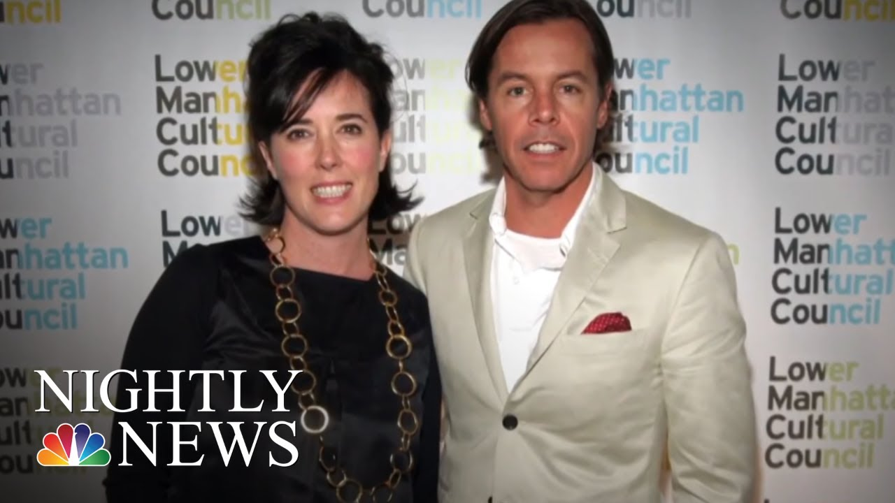 Designer Kate Spade's Death Sparks National Conversation On Suicide | NBC Nightly News