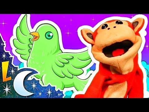 Mu?sica para Bebe?s | Ea La Nana y ma?s Canciones de Cuna Con El Mono Si?labo | Lunacreciente