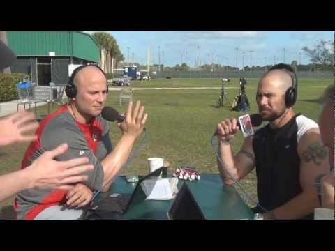 Matt Holliday and Skip Schumaker join The ITD Morning After at Cardinals Spring Training 2012