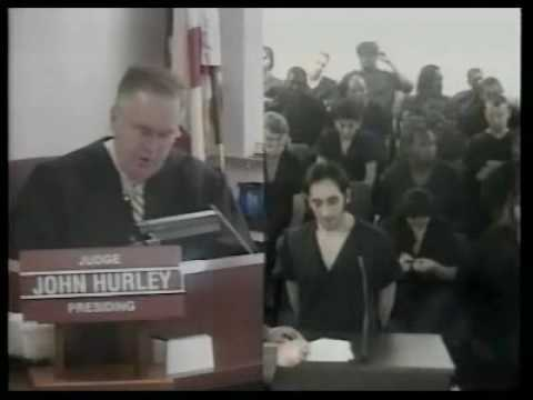 "Man Call Judge ""COCK!"" Judge flips out! -- go to time 2:10"