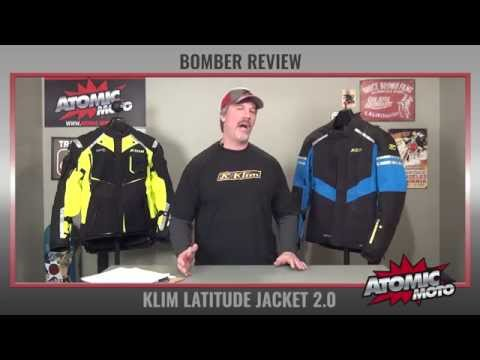 Klim Latitude Jacket 2.0 Review by Atomic-Moto