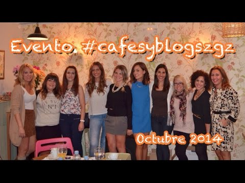 Evento #cafesyblogszgz (Octubre 2014)