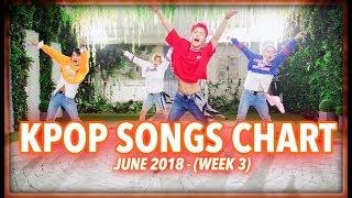 K-POP SONGS CHART | JUNE 2018 (WEEK 3)